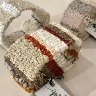 What's the collective noun for a group of Luxury Fibre Cuffs? A cluster? A crowd? Sitting pretty at @fabrik.arts...